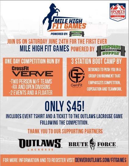 Mile High Fit Games