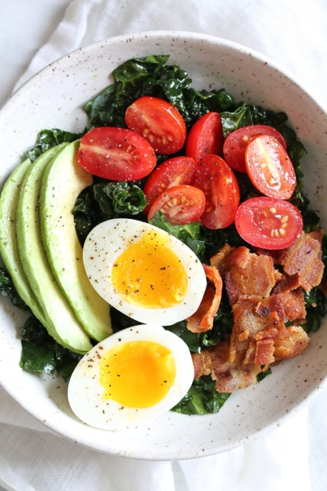 Salad for breakfast? You betcha