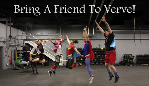 Bring your buddy to Verve this Saturday!!
