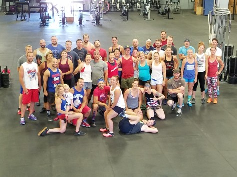 So much patriotism and fitness on July 4th! Thank you everyone who came out.