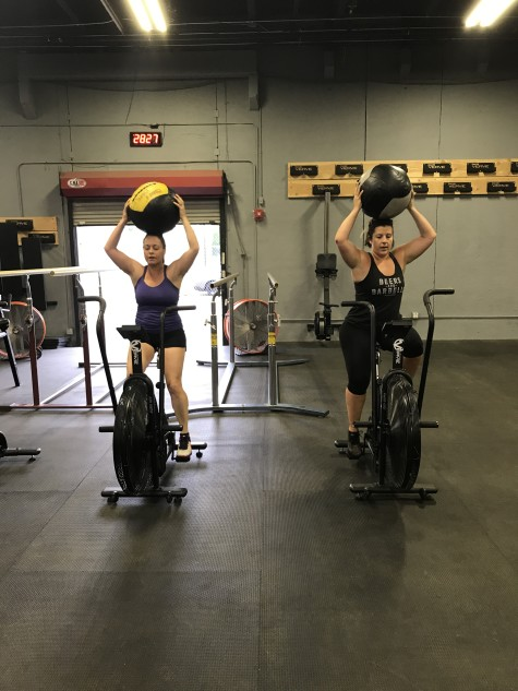 Just when you thought the assault bike could not get worse. . . ask Monica and Stephanie how this went.
