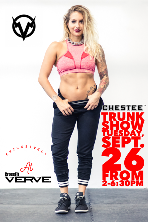 Chestee comes to Verve Tuesday!!